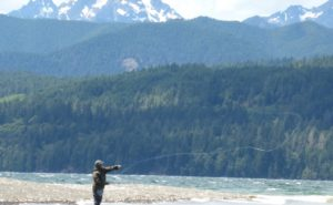 Hood Canal Fly Fishing