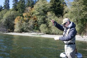 Hood Canal and Puget Sound guided fly fishing trips